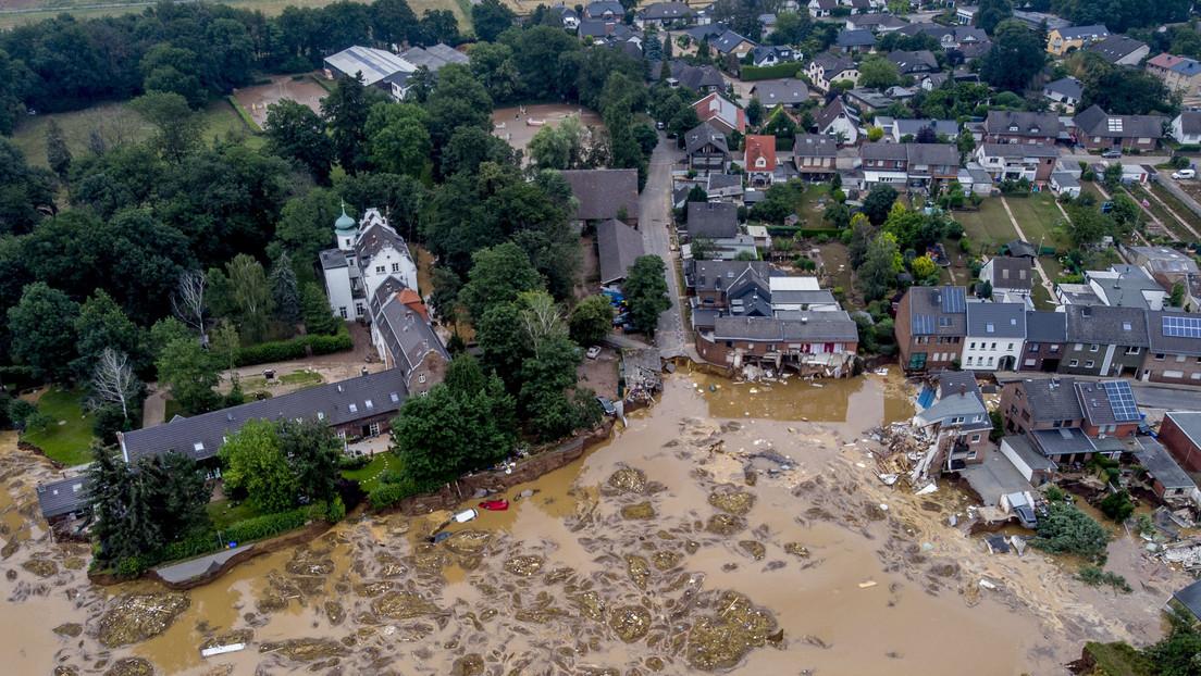 FOTOS: La destrucción dejada por las fuertes lluvias e inundaciones en Europa, que costaron la vida a más de 150 personas