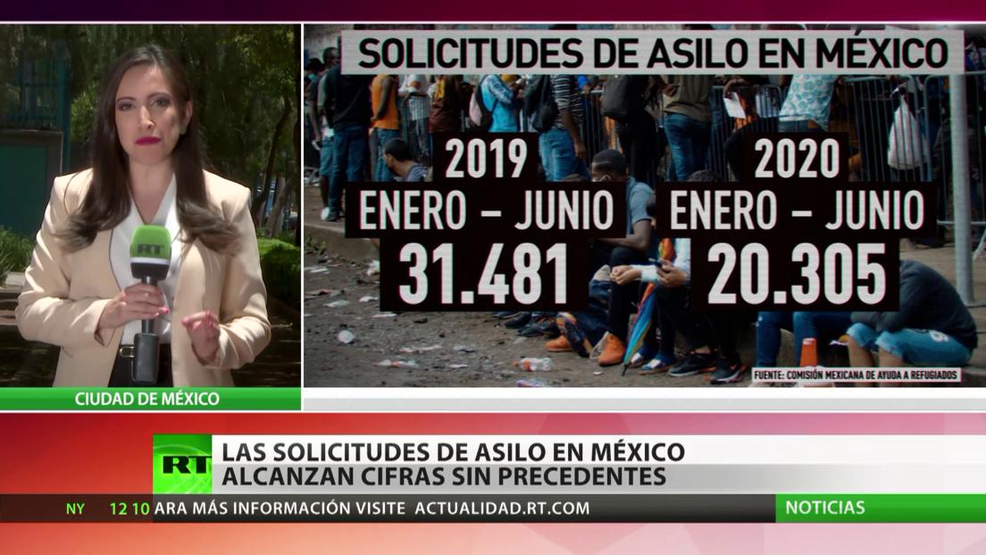 Las solicitudes de asilo en México alcanza cifras sin precedentes