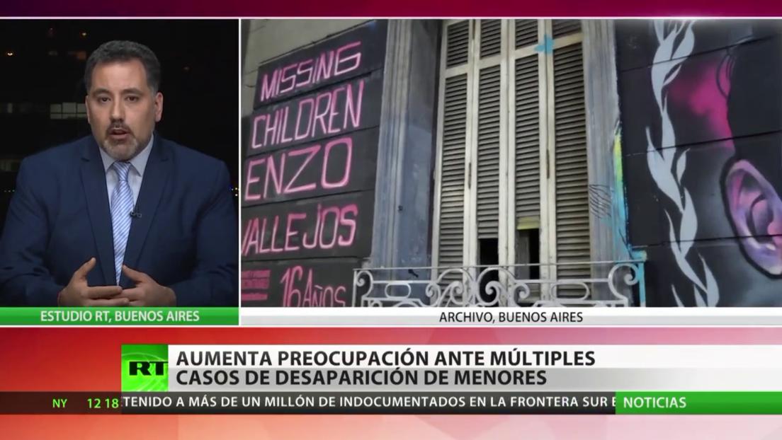 Aumenta la preocupación ante los múltiples casos de desapariciones de menores en Argentina