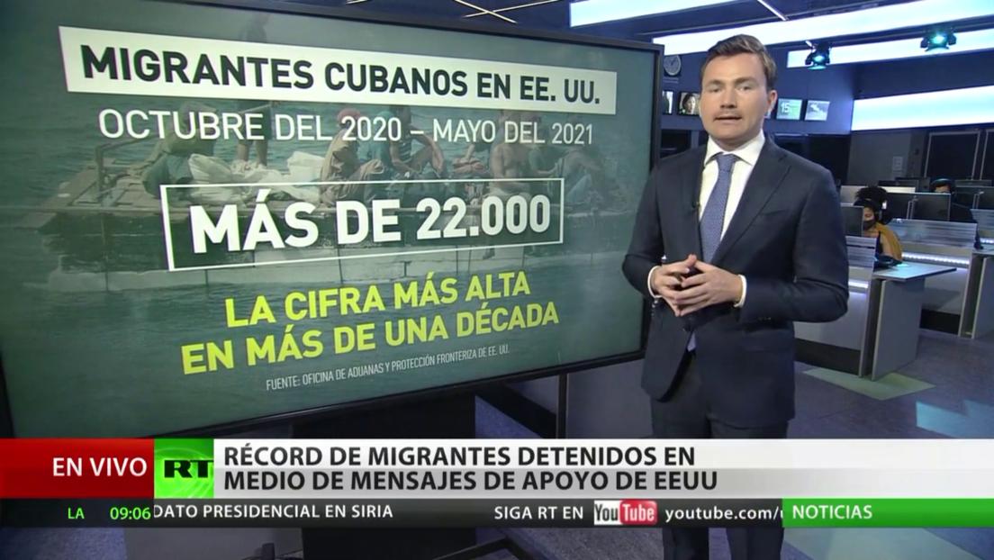 Más de un millón de indocumentados han sido detenidos en la frontera entre EE.UU. y México desde octubre de 2020