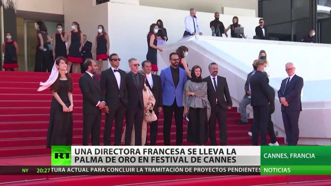 Una directora francesa se lleva la palma de oro en el festival de Cannes