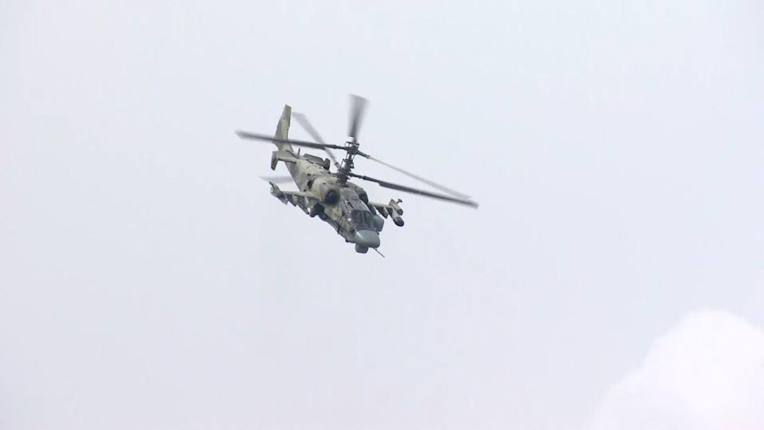 VIDEO: El FSB ruso realiza un ejercicio antiterrorista en vísperas del salón aeroespacial MAKS 2021