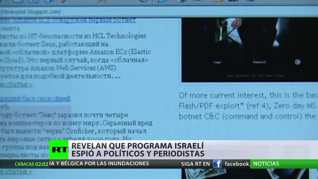 Revelan que un programa israelí permitió espiar a políticos y periodistas en todo el mundo