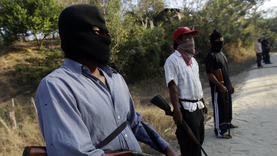 Indígenas de Chiapas se unen al nuevo grupo civil armado 'Los Machetes' para hacer frente al narcotráfico