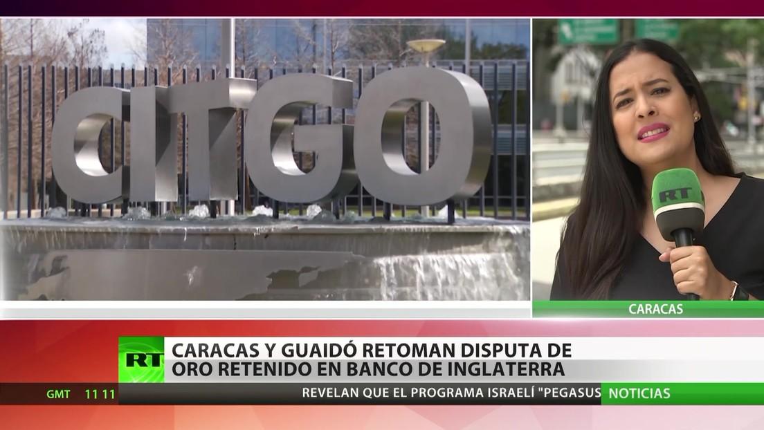 Caracas y Guaidó reanudan la disputa por el oro retenido en el Banco de Inglaterra