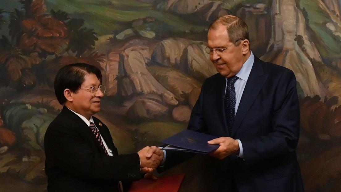 Rusia y Nicaragua firman un acuerdo de seguridad cibernética durante el encuentro de sus ministros de Relaciones Exteriores