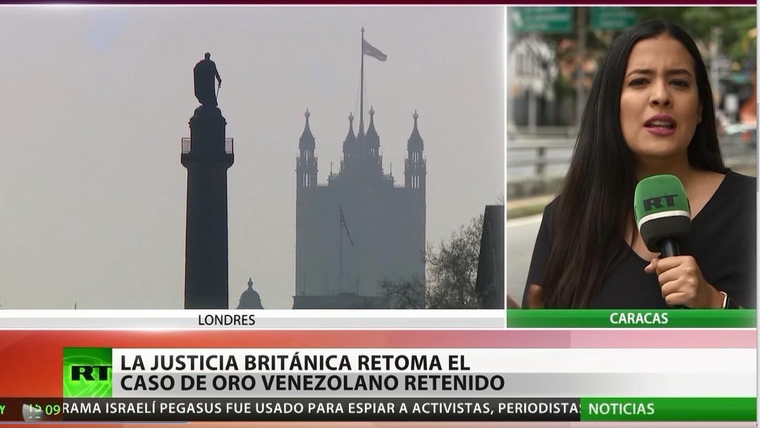 La Justicia británica retoma el caso del oro venezolano retenido en Londres