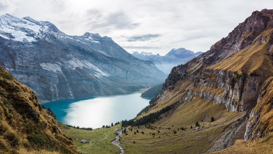 Una década de deshielo de glaciares deja en Suiza 180 nuevos lagos