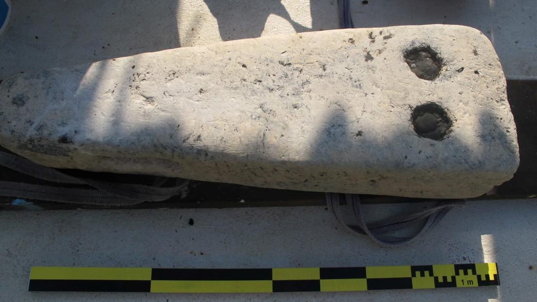 Hallan en Egipto restos hundidos de un buque militar y de un cementerio griego del periodo helenístico