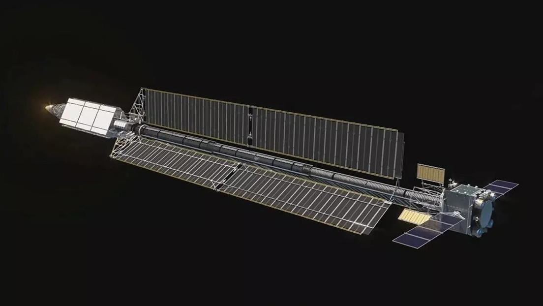 FOTOS: Exhiben el prototipo de la nave espacial rusa Zevs de propulsión nuclear en el salón aeronáutico MAKS 2021