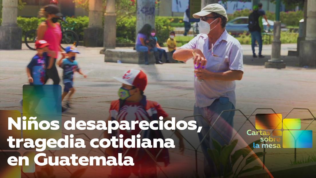 Niños desaparecidos, una tragedia cotidiana en Guatemala