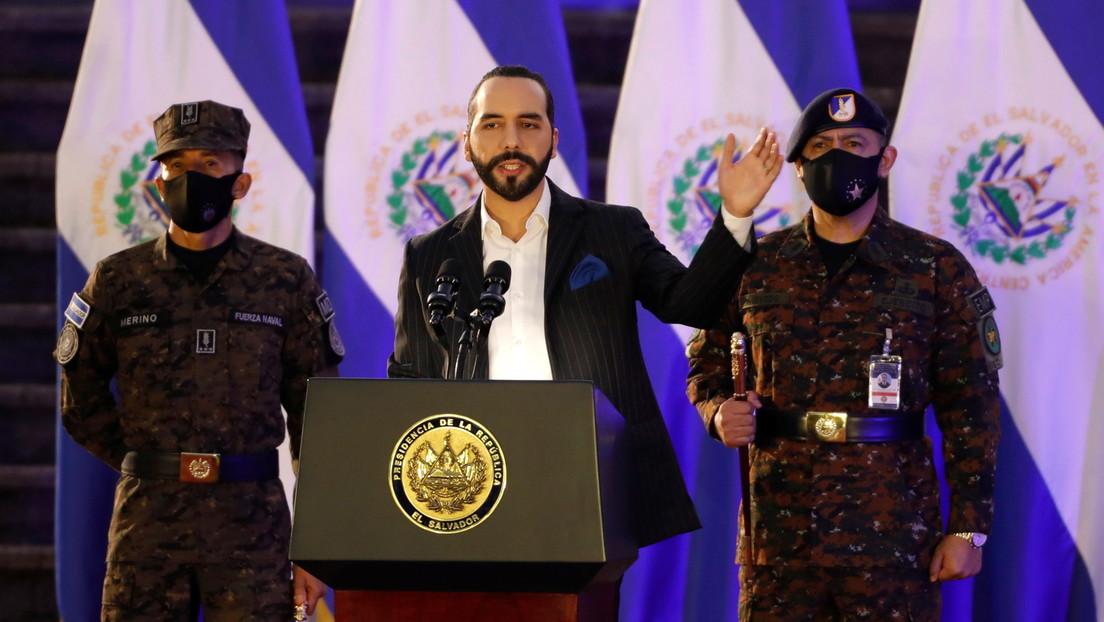 Bukele ordena duplicar el número de efectivos de las Fuerzas Armadas para la lucha contra las pandillas en El Salvador