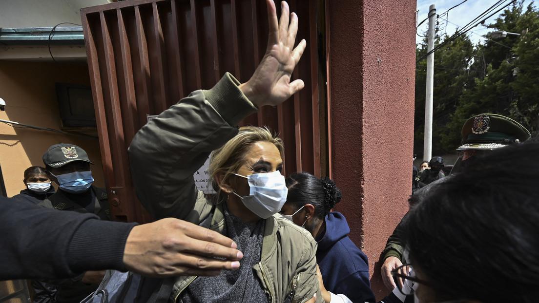 """""""Debo ser liberada"""": Jeanine Áñez pide una audiencia a Michelle Bachelet para denunciar una """"persecución"""" política"""