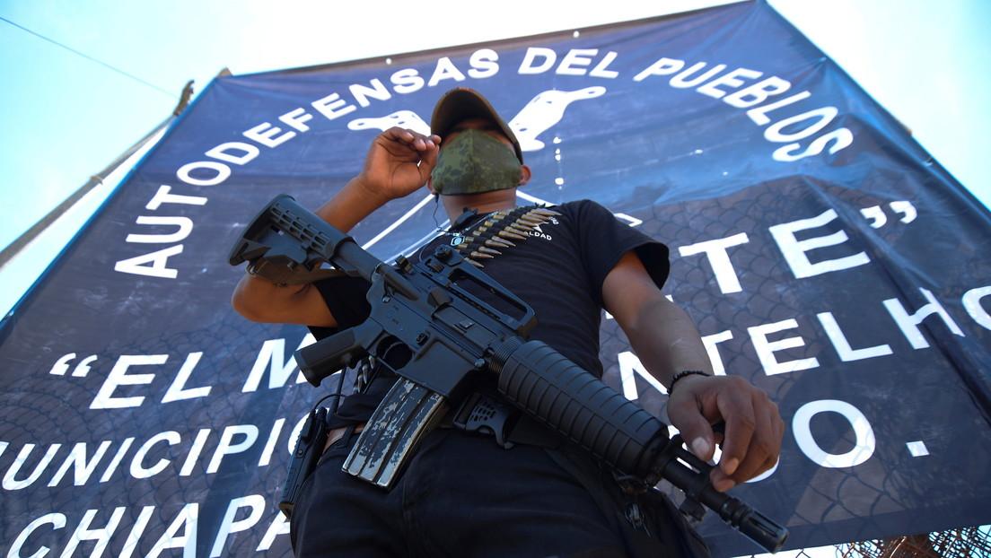 ¿Quiénes conforman el grupo de autodefensa 'El Machete' en Chiapas y por qué se opone López Obrador?