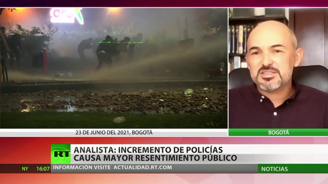 Analista: El Gobierno de Duque debería realizar una reforma policial en Colombia
