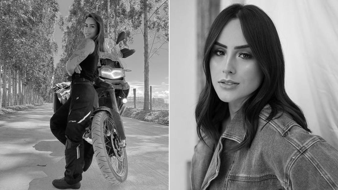"""""""La vida es corta, seamos locos"""": una influente brasileña publica su último post en Instagram antes de morir en un accidente de motocicleta"""