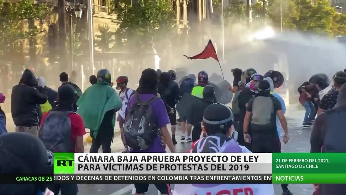 Chile: La Cámara Baja aprueba un proyecto de ley para indemnizar a las víctimas de las protestas del 2019