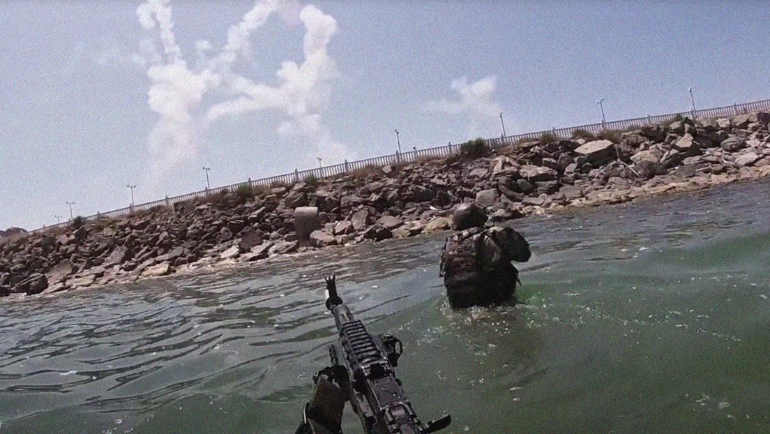 VIDEO: Infantes de la Flotilla del Caspio realizan ejercicios de entrenamiento para celebrar el Día de la Armada Rusa