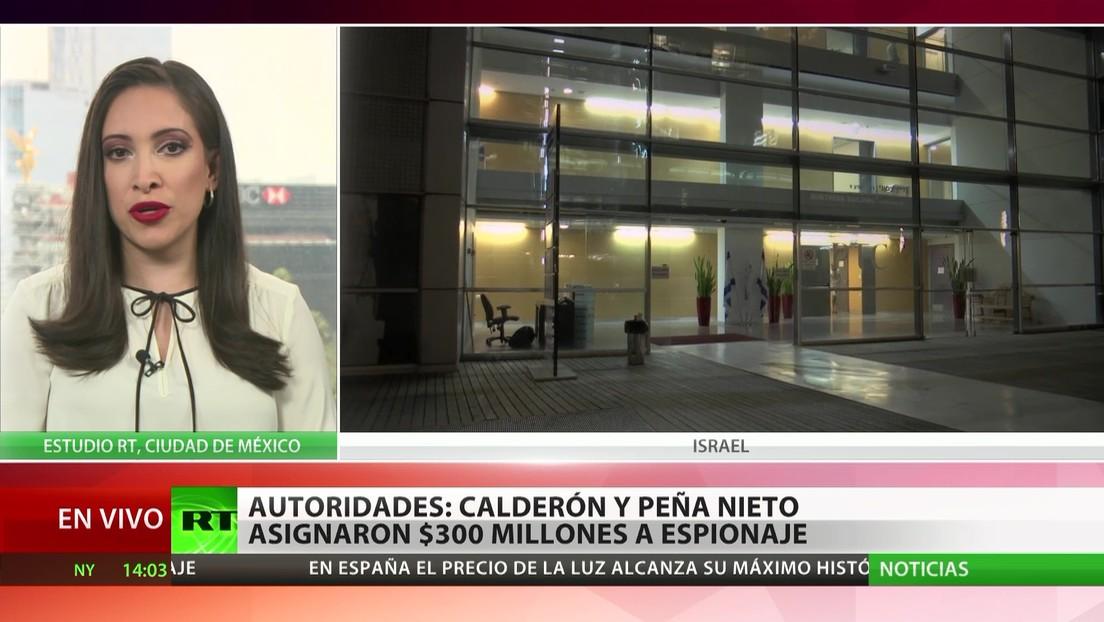 Autoridades mexicanas: Calderón y Peña Nieto asignaron 300 millones de dólares a espionaje