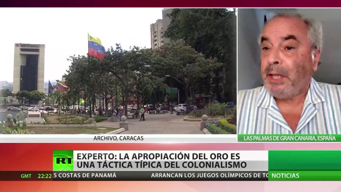 Experto: La apropiación del oro venezolano es una táctica típica del colonialismo