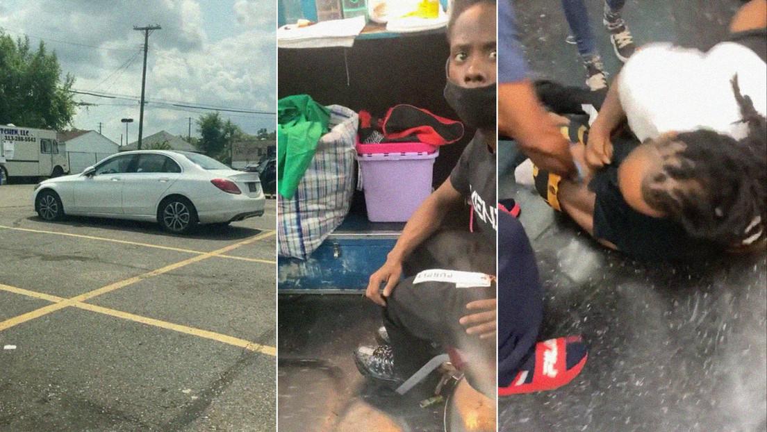Le roban su auto y al descubrir que fue un vecino decide castigarlo (VIDEO)