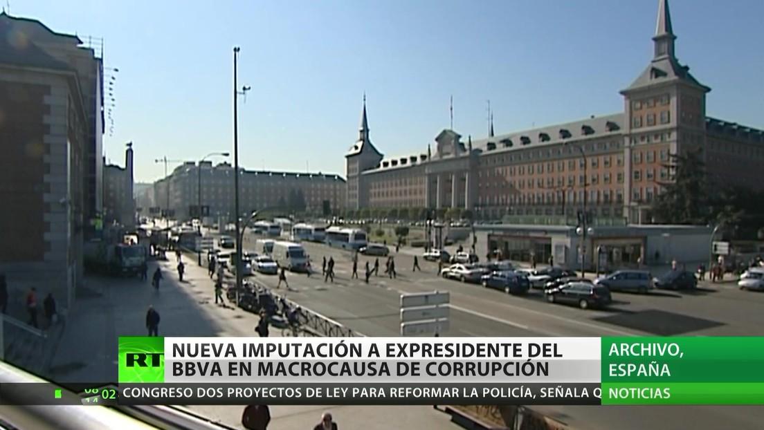 España: Nueva imputación al expresidente de BBVA en una macrocausa de corrupción