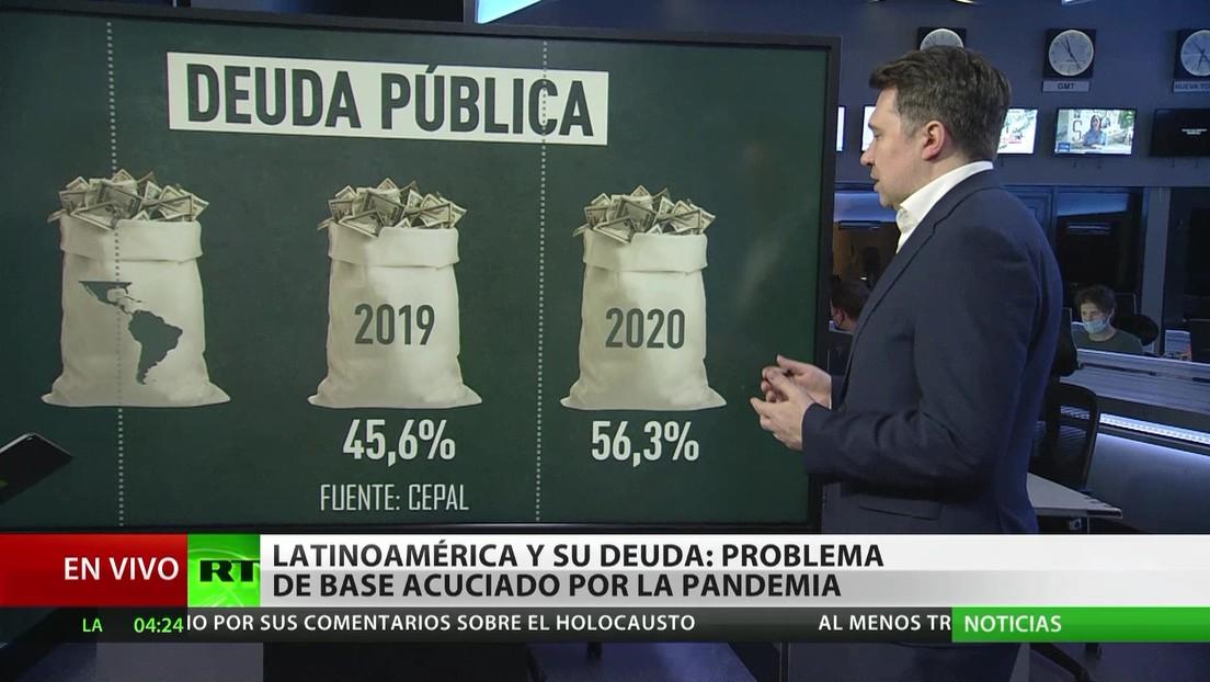 Deuda en Latinoamérica: Un problema de base agravado por la pandemia