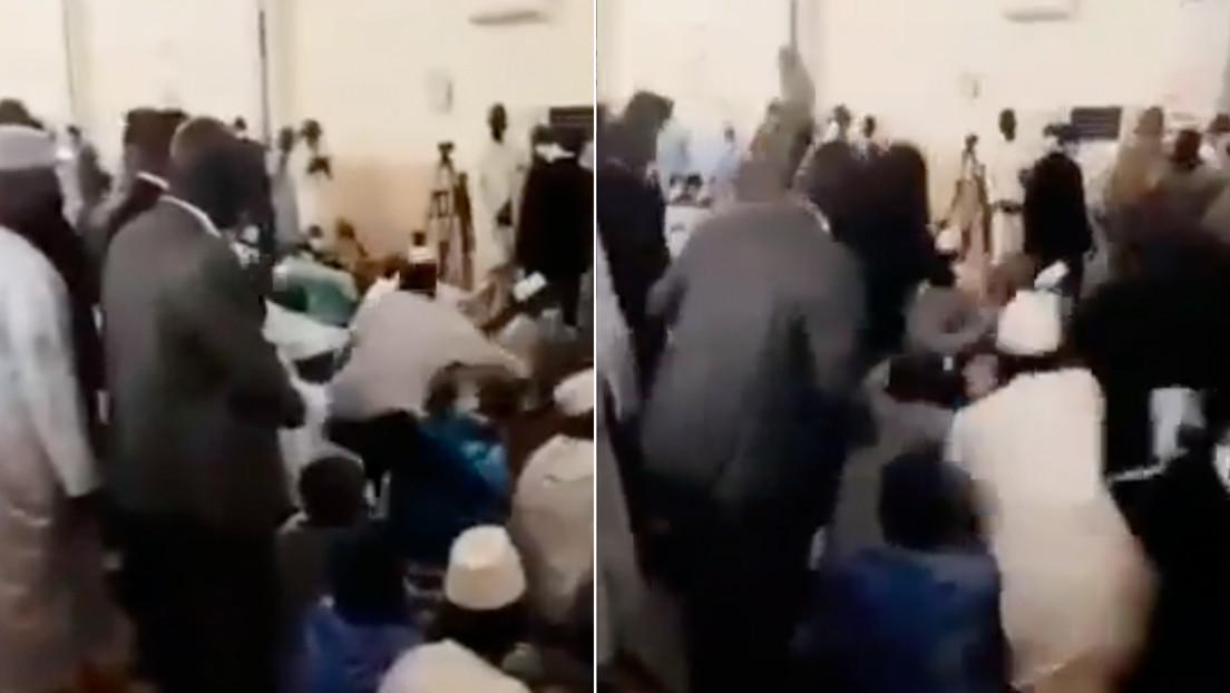 VIDEO: Así fue el fallido intento de asesinato del presidente interino de Mali