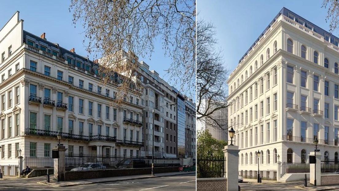 Magnate chino obtiene el visto bueno para construir un gran 'palacio' en el centro de Londres