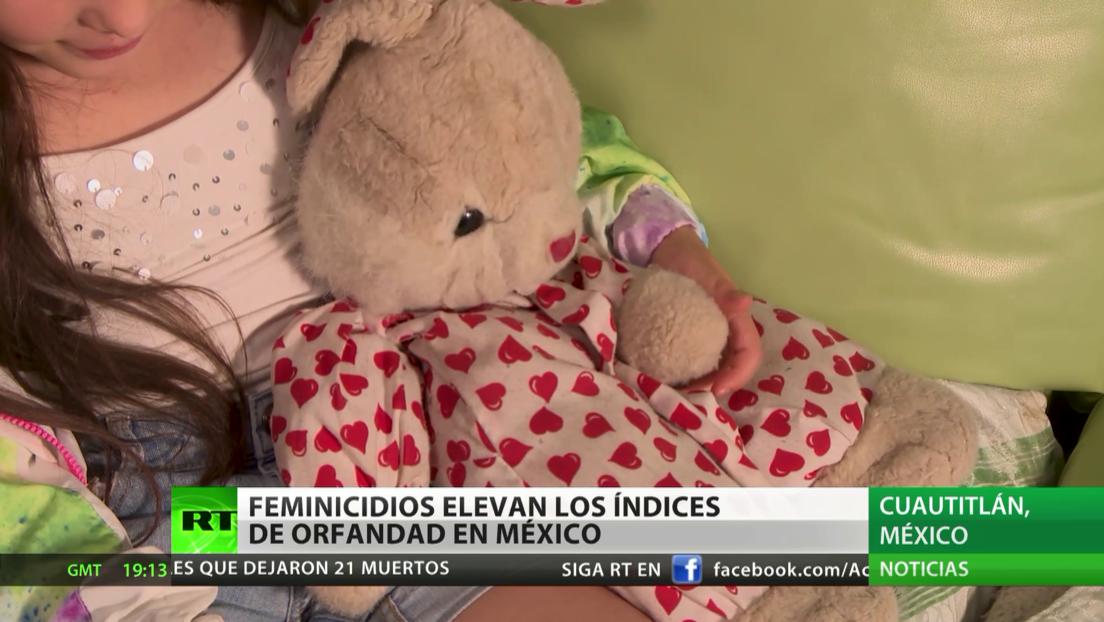 Feminicidios elevan los índices de orfandad en México
