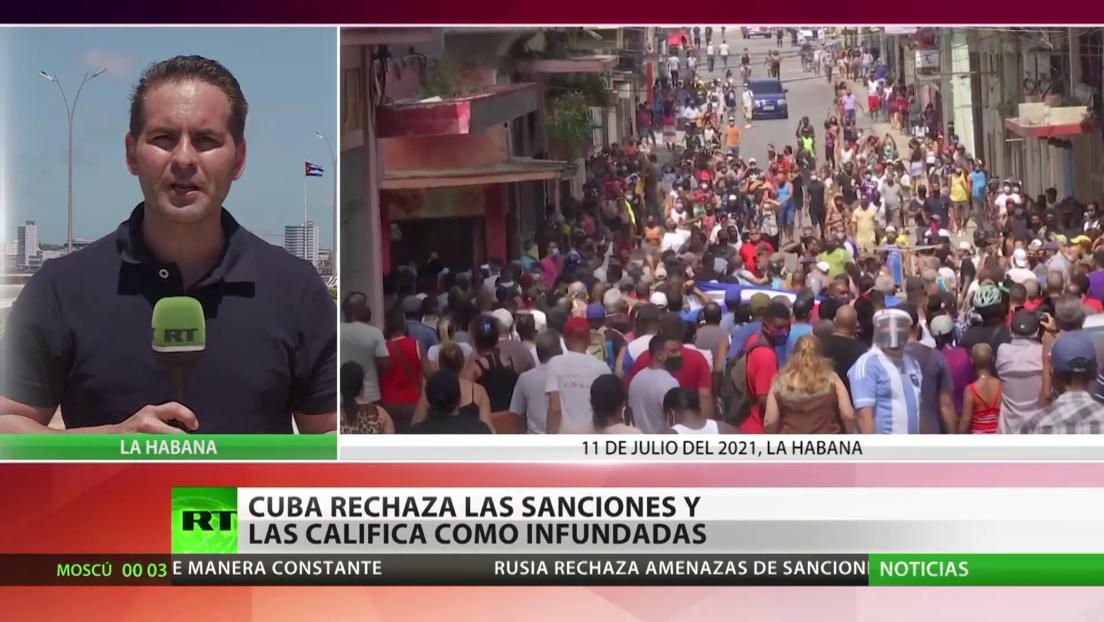 Cuba rechaza las sanciones de EE.UU. y las califica como infundadas