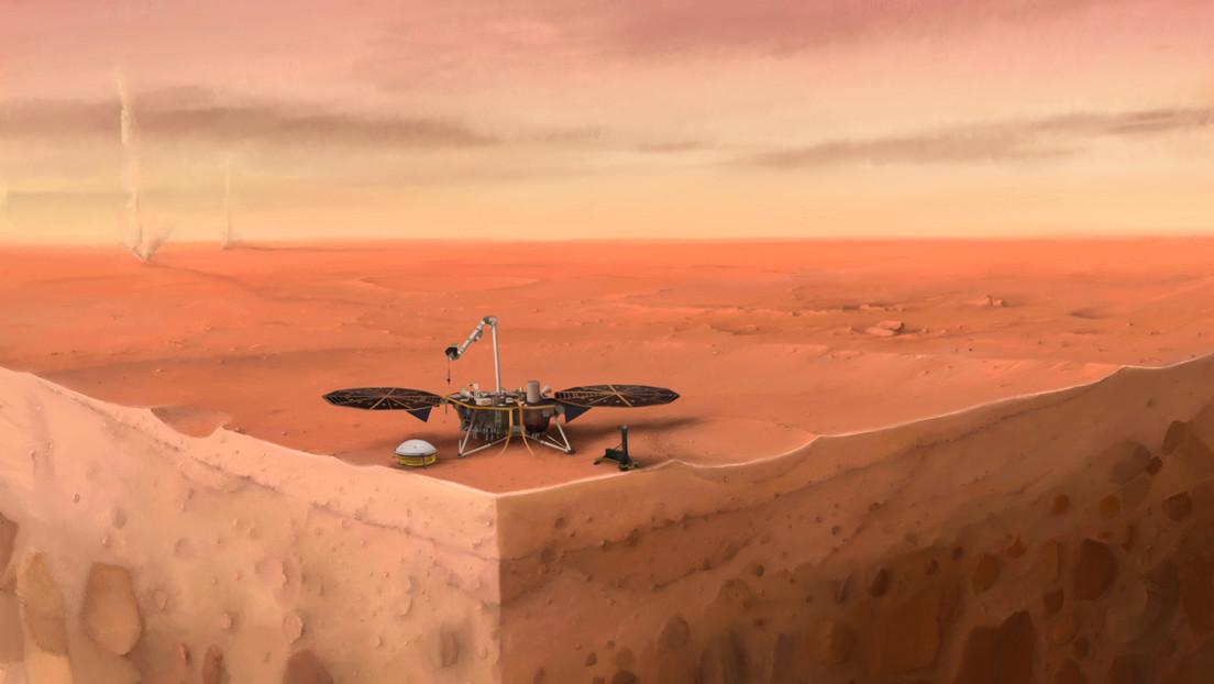 Científicos descubren detalles sin precedentes de la corteza, manto y núcleo de Marte