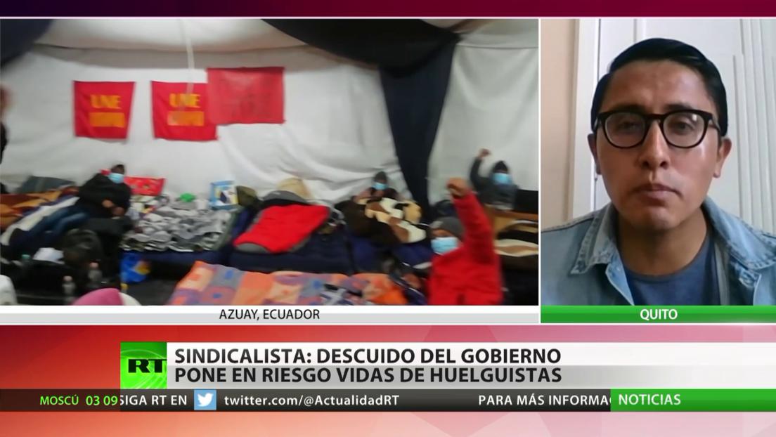 Ecuador registra la 11.ª jornada de huelga en apoyo a la Ley Orgánica de Educación Intercultural