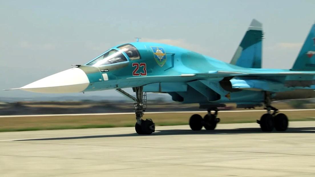 """El bombardero táctico Su-34, el más avanzado y """"hermoso"""" de Rusia, se perfila como objeto de exportación"""