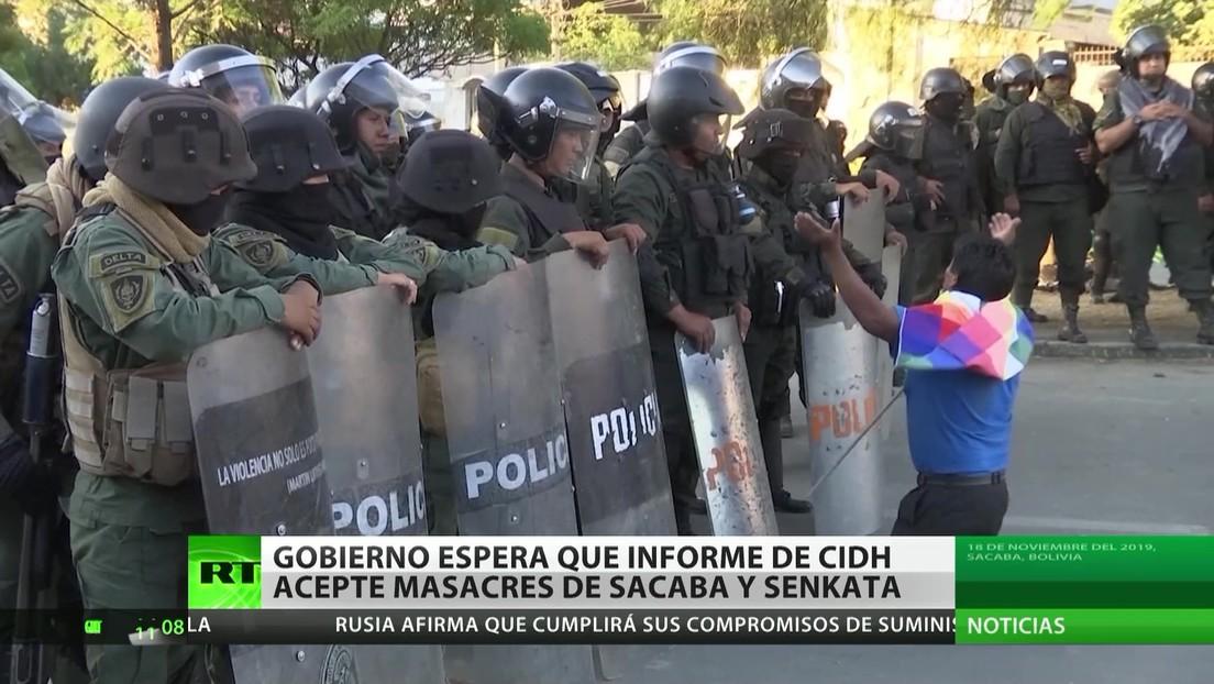 Bolivia: El Gobierno espera que el informe de la CIDH reconozca las masacres de Senkata y Sacaba