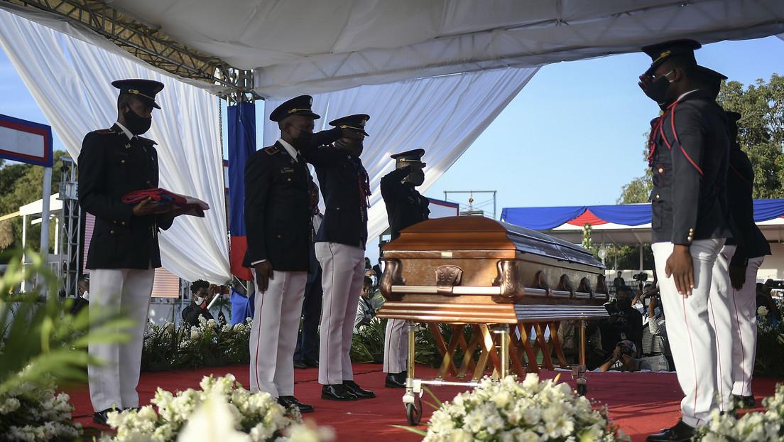 Realizan el funeral de Estado del presidente asesinado de Haití, Jovenel Moïse