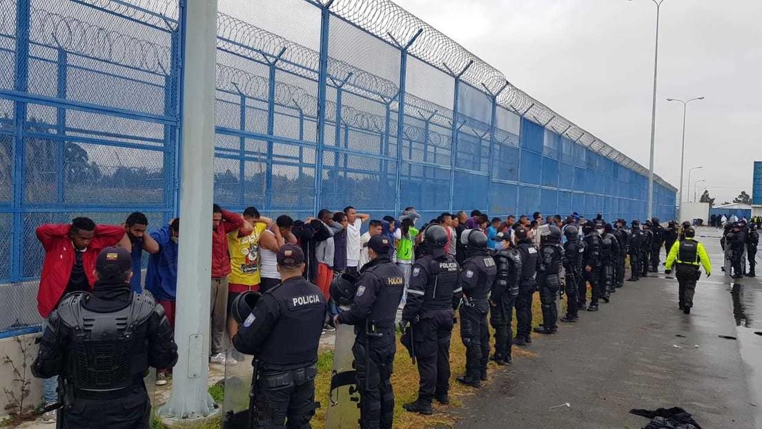 Amotinamientos, 27 muertos y una policía abusada sexualmente: los nuevos hechos de la crisis carcelaria en Ecuador