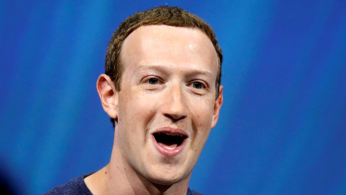 Mark Zuckerberg, pillado poniendo 'me gusta' a un meme que se burla de Jeff Bezos