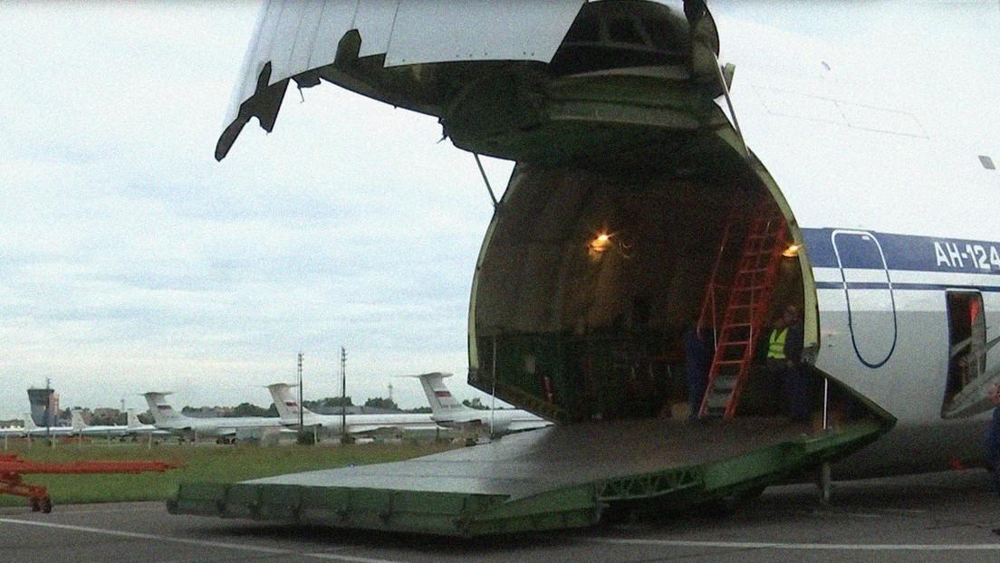 VIDEO: Rusia envía dos aviones de transporte militar para llevar ayuda humanitaria a Cuba