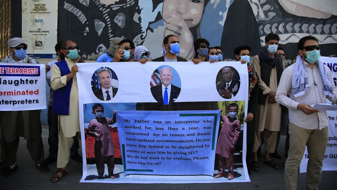 Biden autoriza 100 millones de dólares en fondos de emergencia para refugiados de Afganistán