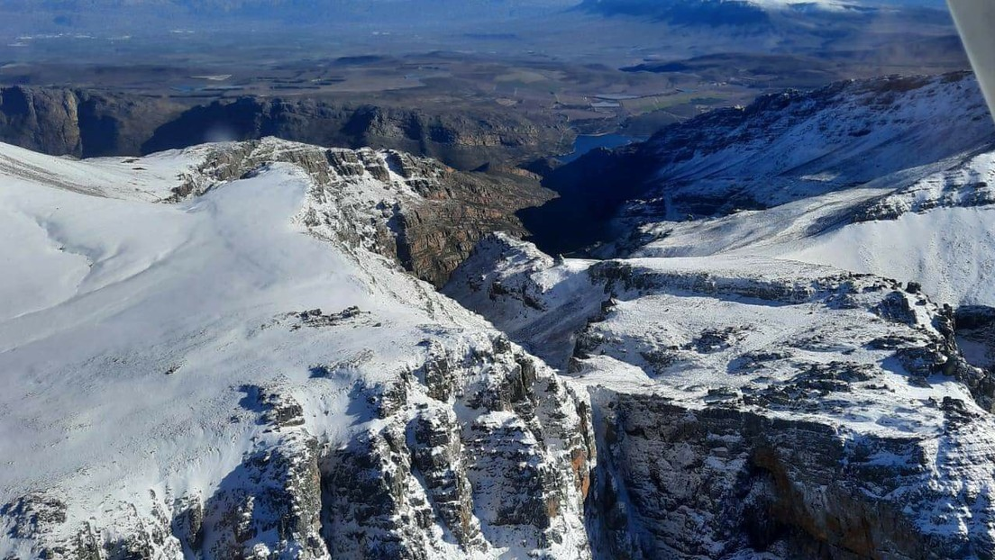 ¿Otra anomalía fruto del cambio climático? Sudáfrica rompe 19 récords de temperaturas mínimas (FOTOS, VIDEOS)