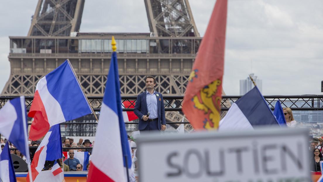 VIDEO: La Policía francesa usa gas lacrimógeno para dispersar las manifestaciones contra el nuevo pase sanitario en París