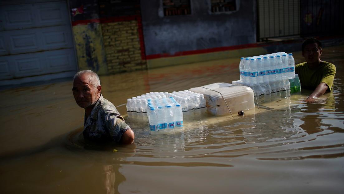 Tras las devastadoras inundaciones, China se prepara para la llegada de un fuerte tifón