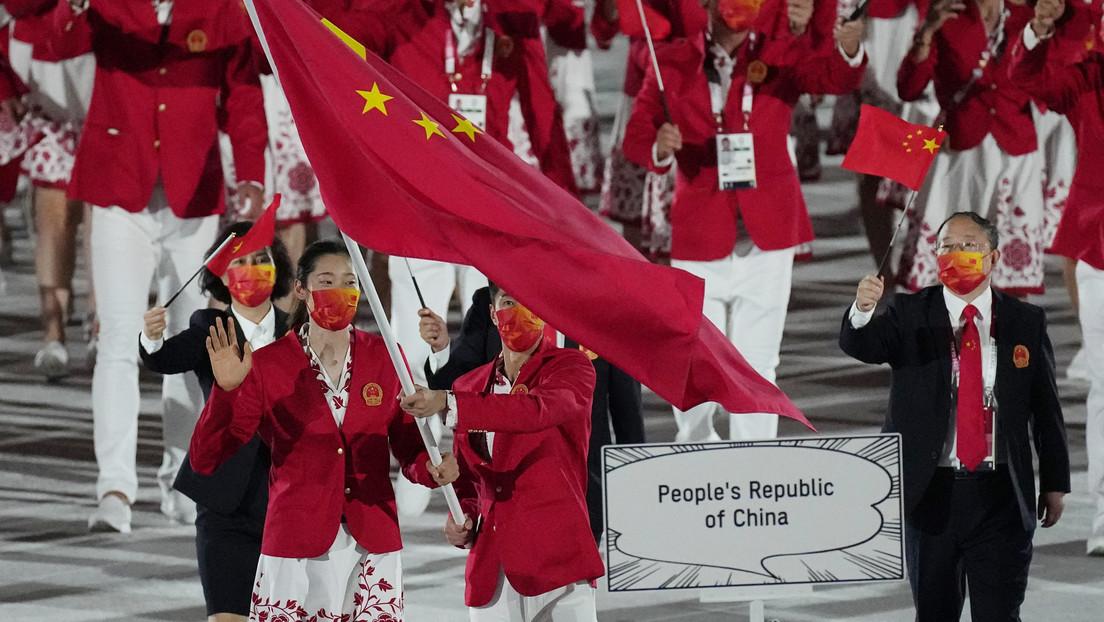 China protesta contra la transmisión de NBC que mostró el mapa del país sin Taiwán durante la apertura de los JJ.OO.