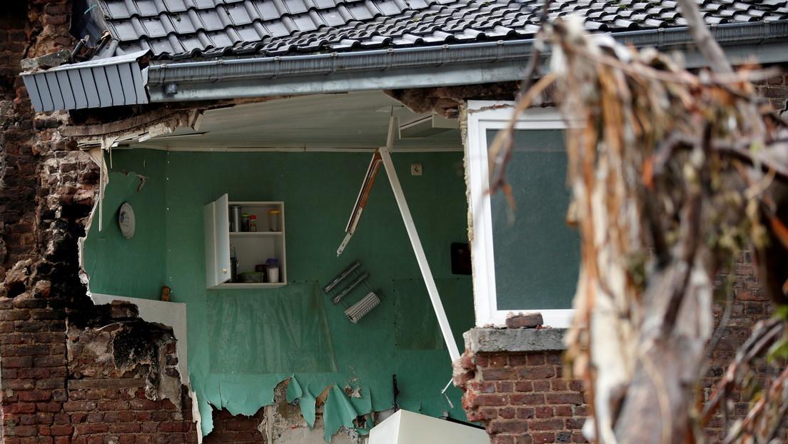 Fuertes lluvias causan inundaciones y graves daños en Bélgica (FOTOS, VIDEOS)