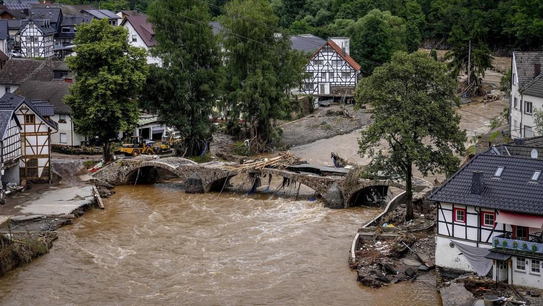 Un jubilado alemán dona un millón de euros a los afectados por las inundaciomes (y consigue que su club de fútbol favorito aporte otro tanto)