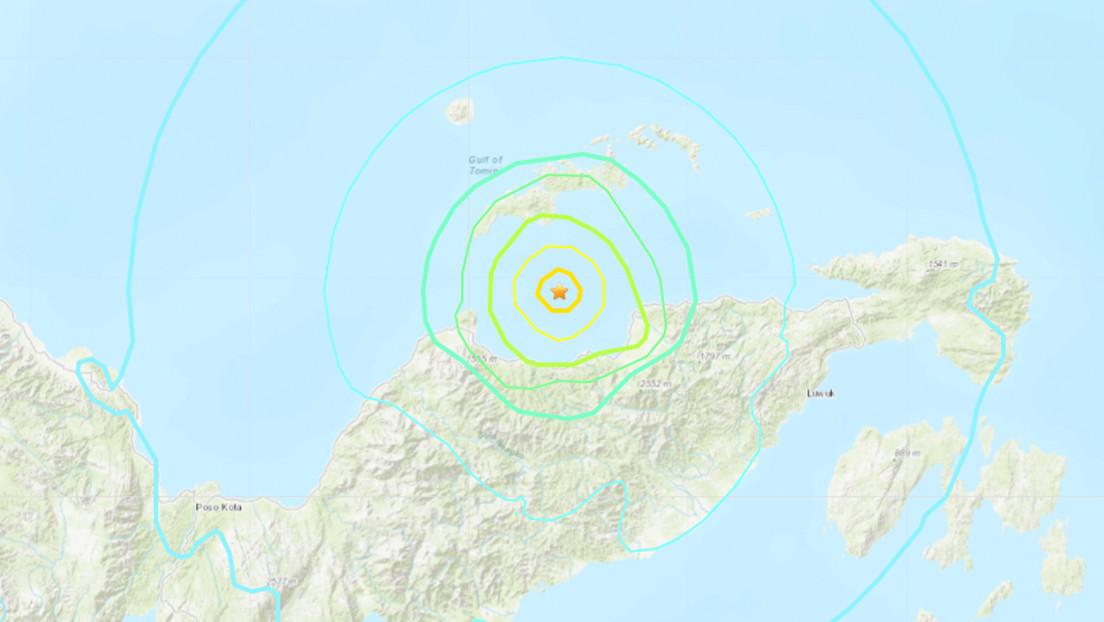 Se registra un sismo de magnitud 6,2 frente a las costas de Indonesia
