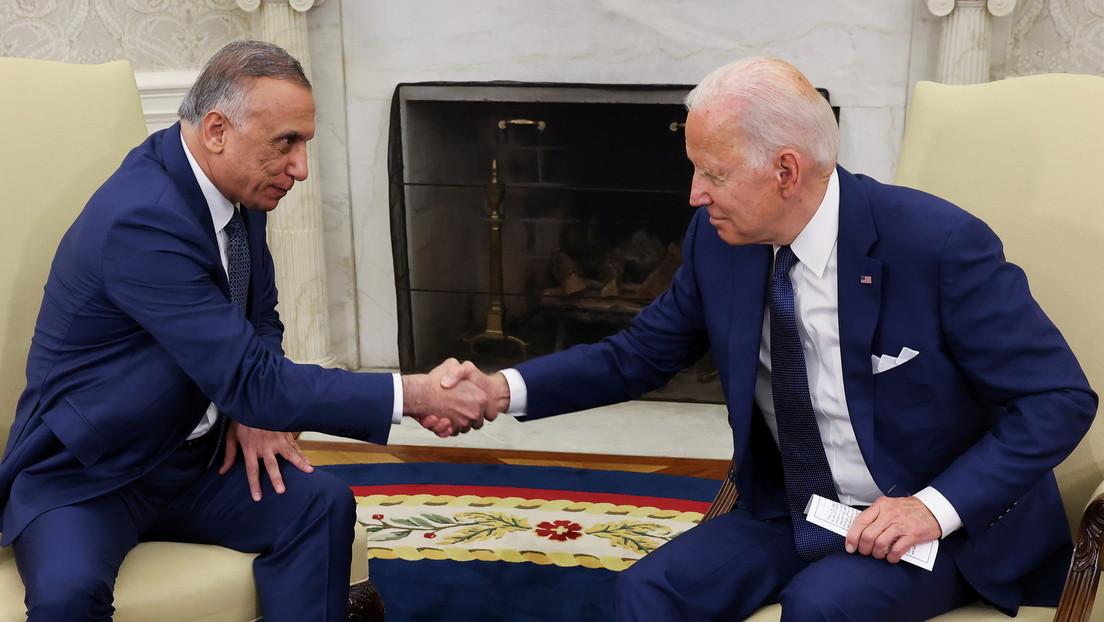 Biden confirma un acuerdo con Irak para poner fin a la misión de combate de EE.UU. en ese país para finales de año