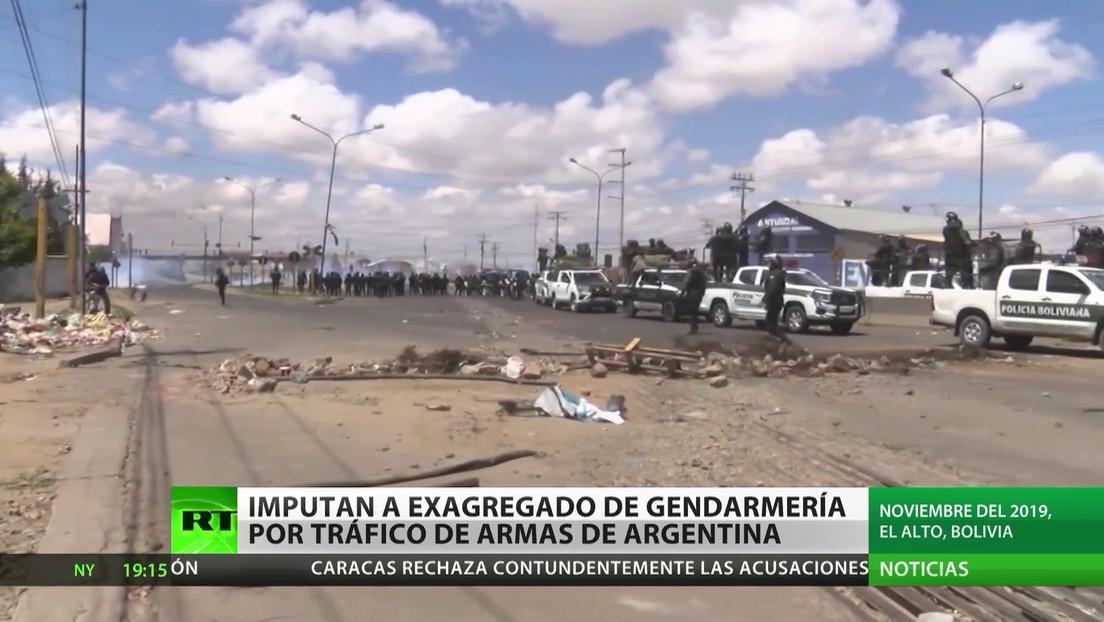 Imputan en Argentina a un exagregado de la Gendarmería por tráfico de armas a Bolivia