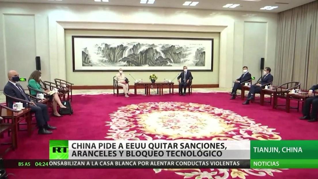 China pide a EE.UU. quitar sanciones, aranceles y el bloqueo tecnológico durante unas conversaciones de alto nivel